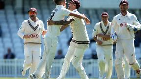 Curran class helps Surrey to emphatic Yorkshire win