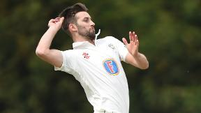 Wood takes six but Derbyshire hold on for draw