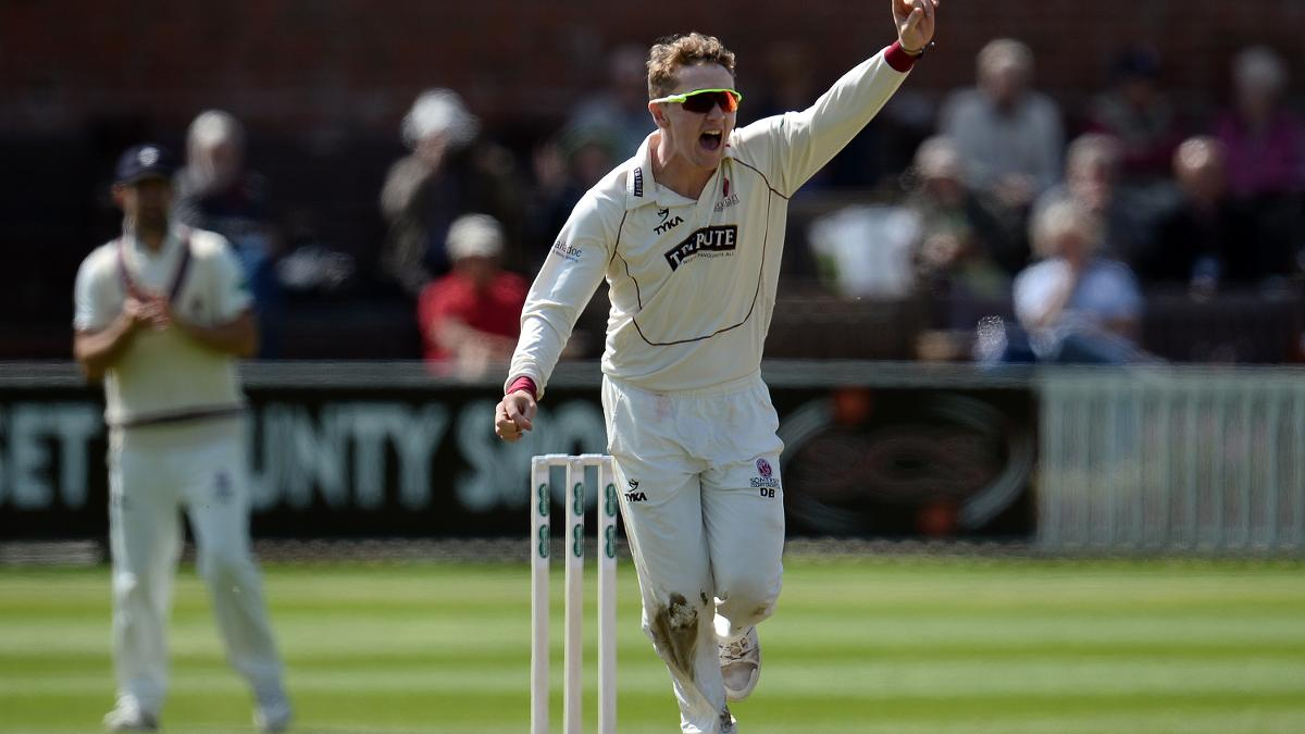 Somerset spinner Dom Bess has received his first Test call-up
