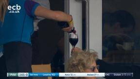 You can never have too much red wine at Lord's...