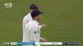 Ali out caught Buttler bowled Anderson