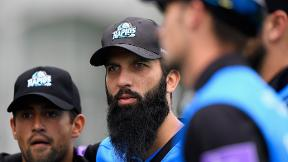 Moeen Ali smashes century for Worcestershire Rapids