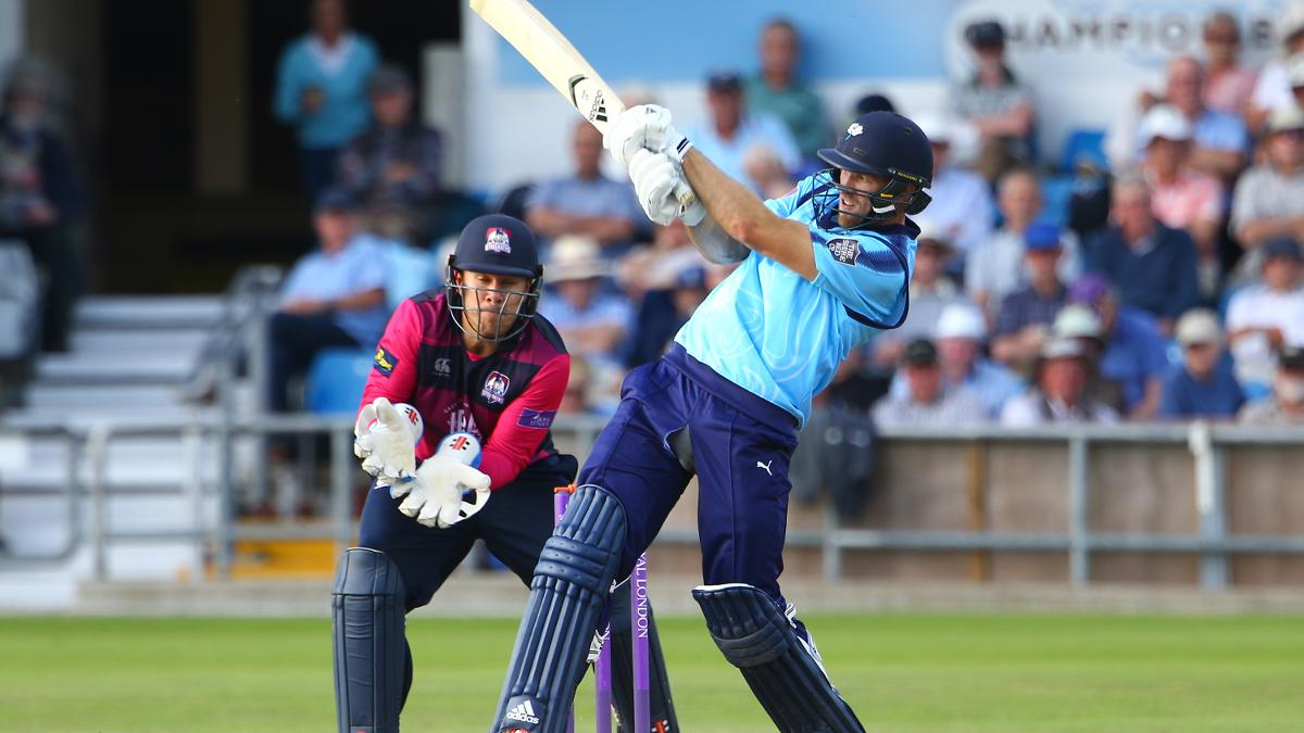 David Willey was in fine fettle to help Yorkshire to victory