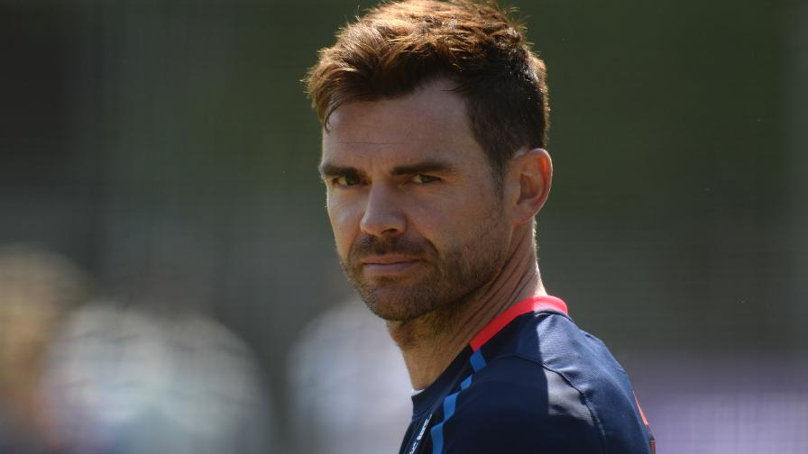 James Anderson to sit out next six weeks