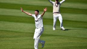 Overton helps Somerset take control