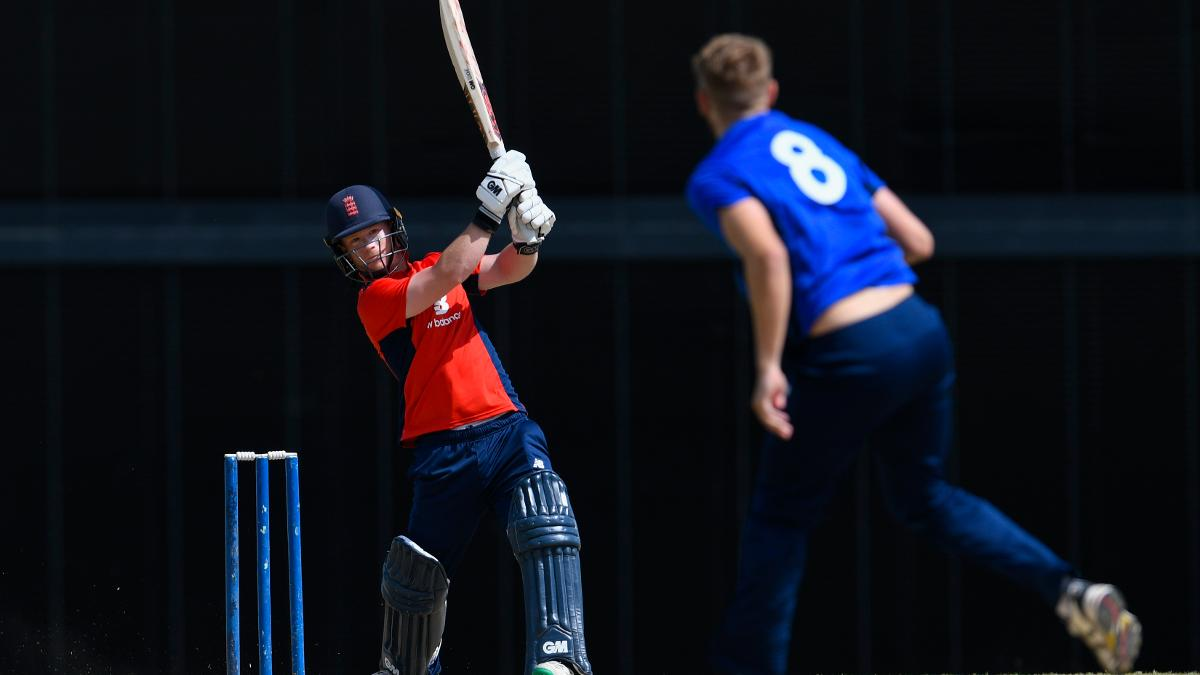 Alex Davies starred for the North as they took on the South out in Barbados