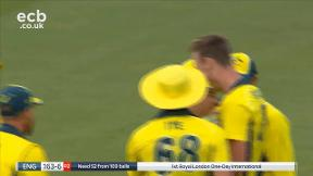 Root out, caught Paine bowled Stanlake