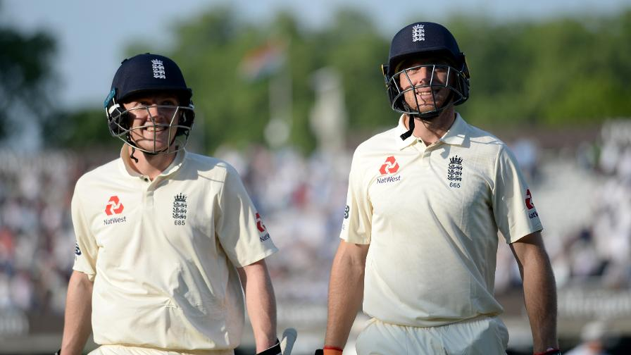 England fight back through west county duo Jos Buttler and Dom Bess both who both score half-centuries