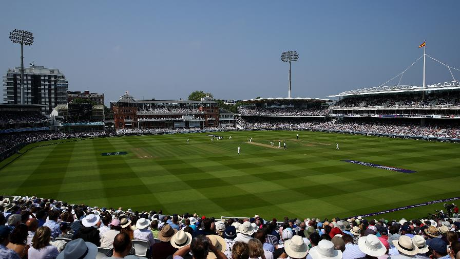Lord's looks resplendent in the sun