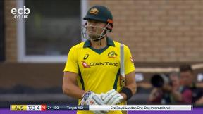 Stoinis run out (Bairstow/Buttler)