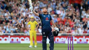 Watch Jonny Bairstow's century in England's world record score