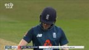 Morgan out caught Paine bowled J. Richardson