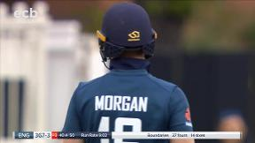 Morgan pulls Tye for 6