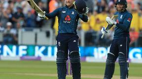 Roy century sets up crushing England victory