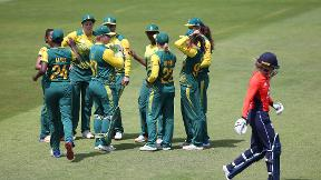 Watch highlights as England were edged out by South Africa