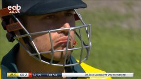 Stoinis Out, c Ball b Ali