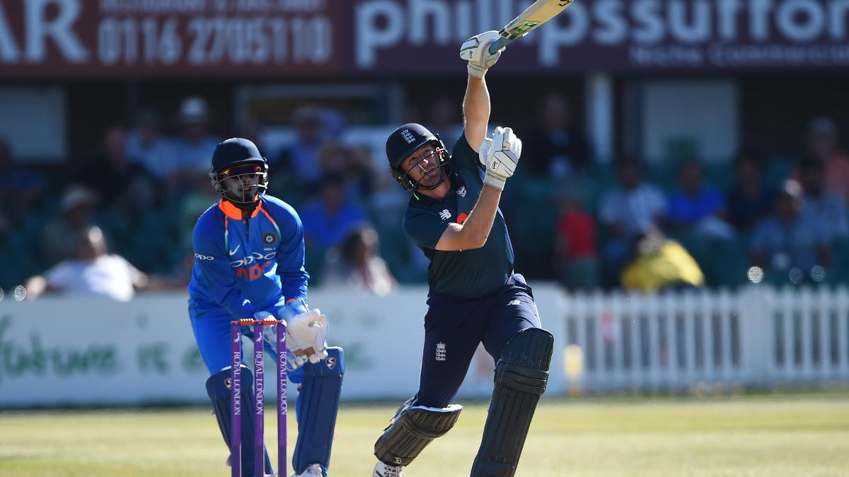 Liam Dawson couldn't stick around on a frustrating day for England Lions