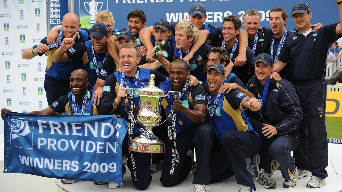 Hampshire still possess two members of the 2009 50-over trophy-lifting side
