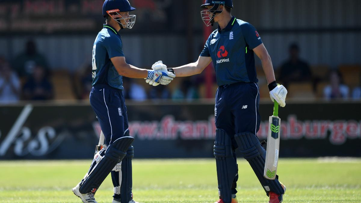 Sam Hain and Tom Kohler-Cadmore both confidently chased West Indies A's total