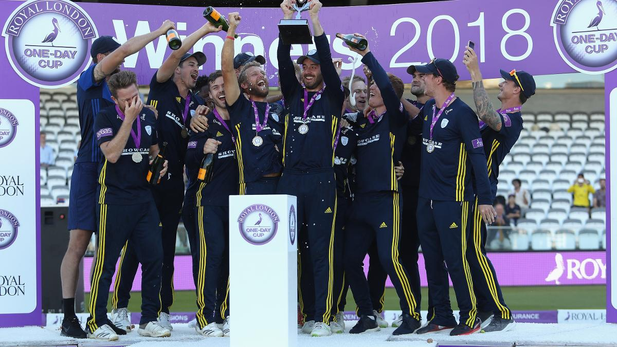Hampshire lift the One-Day Cup