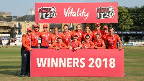 Watch England win the IT20 Tri-series