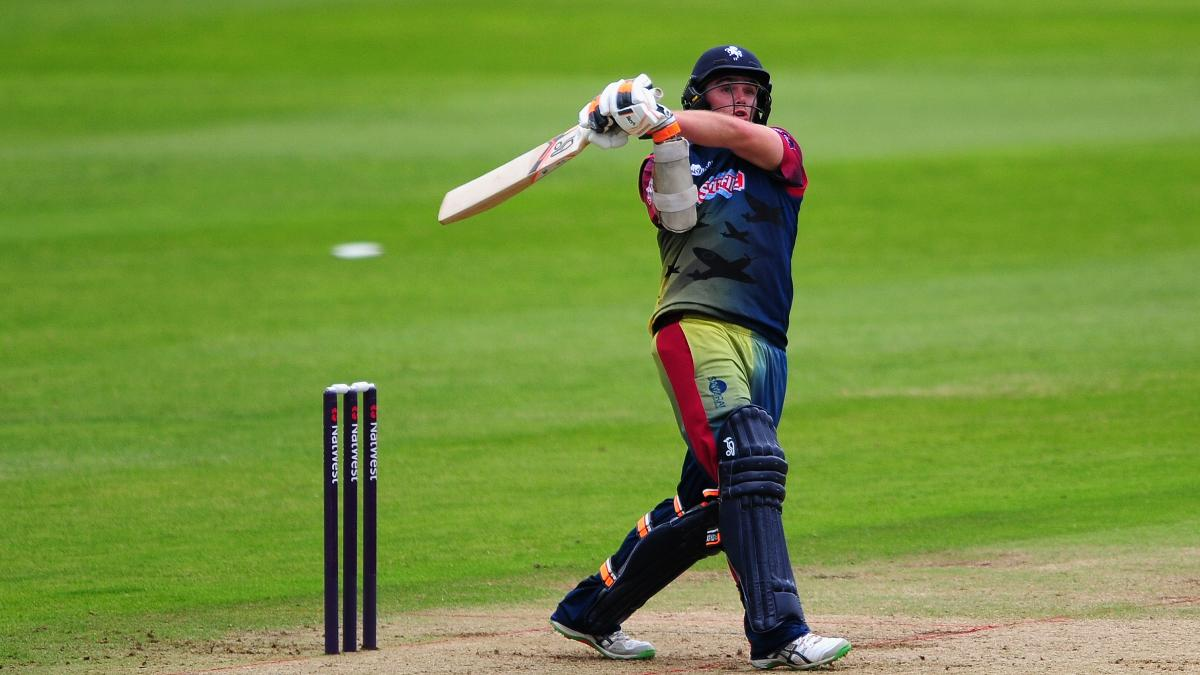 Two years ago, Tom Latham played for Kent in the competition