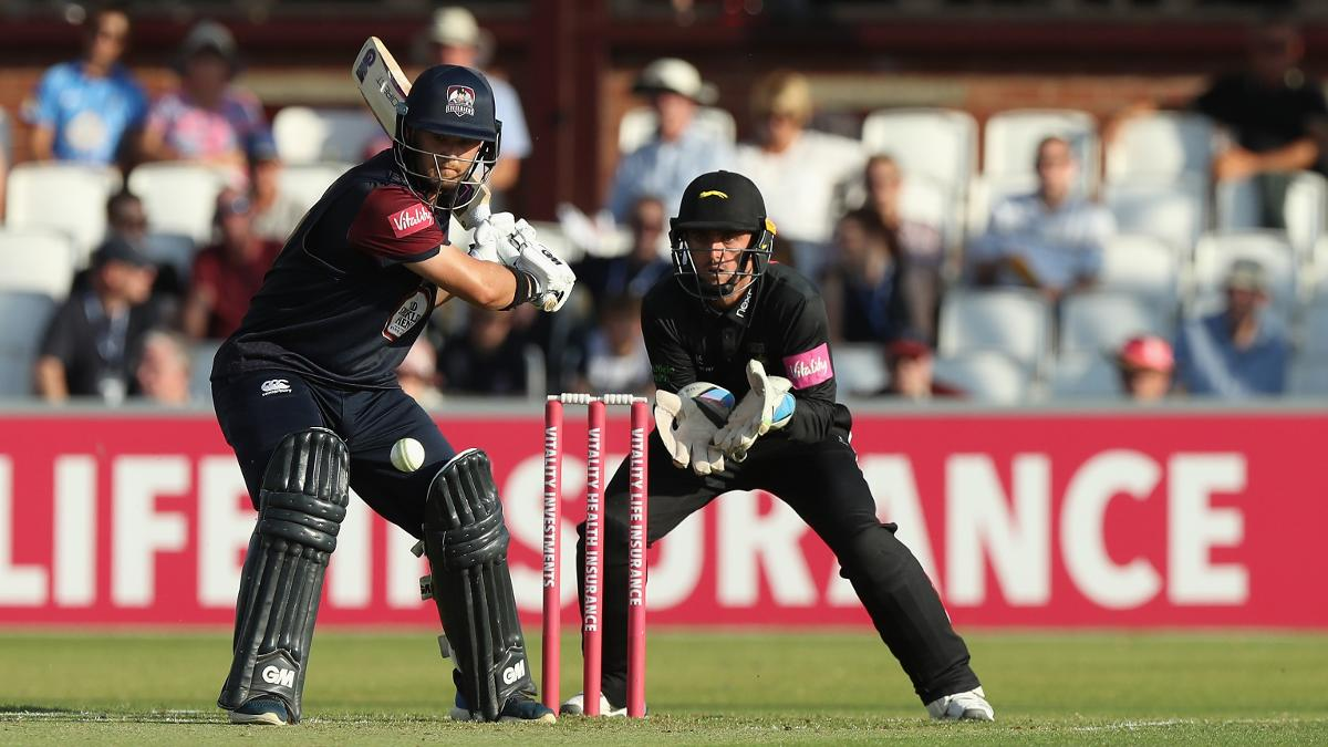 Ben Duckett was in an aggressive mood with the bat - but he couldn't prevent the Steelbacks from losing