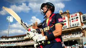 Joe Denly hits T20 100 then takes hat-trick