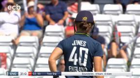 Jones pulls Huddleston for 4