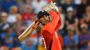 Alex Hales hits a vital 58 not out from 41 balls in Cardiff thriller