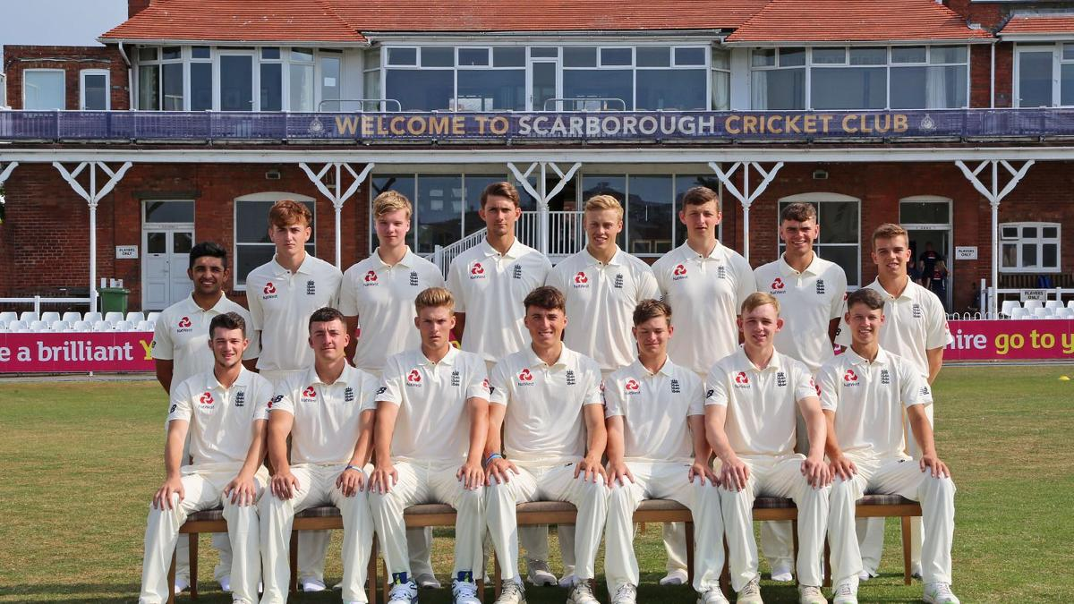 The England Under-19 side for the first Test of the series against South Africa
