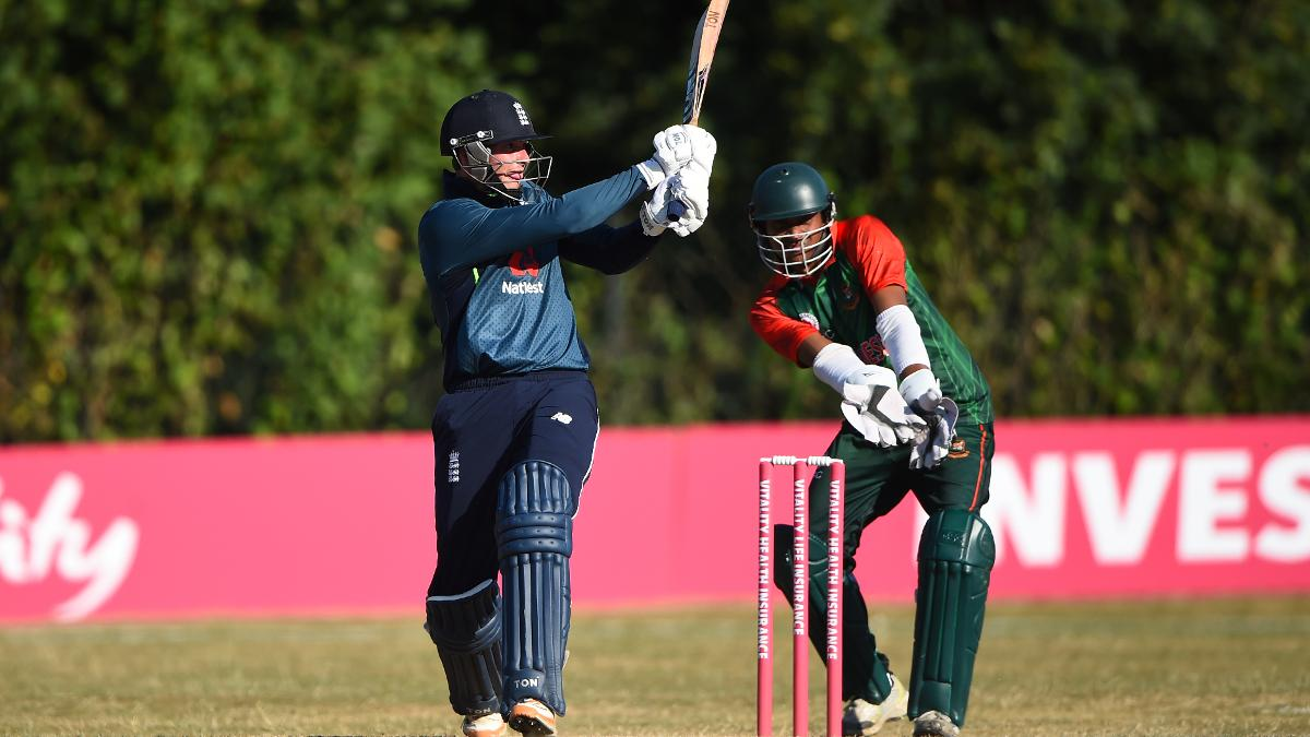 Alex Hammond of England batting during the Vitality IT20 Physical Disability Tri-Series