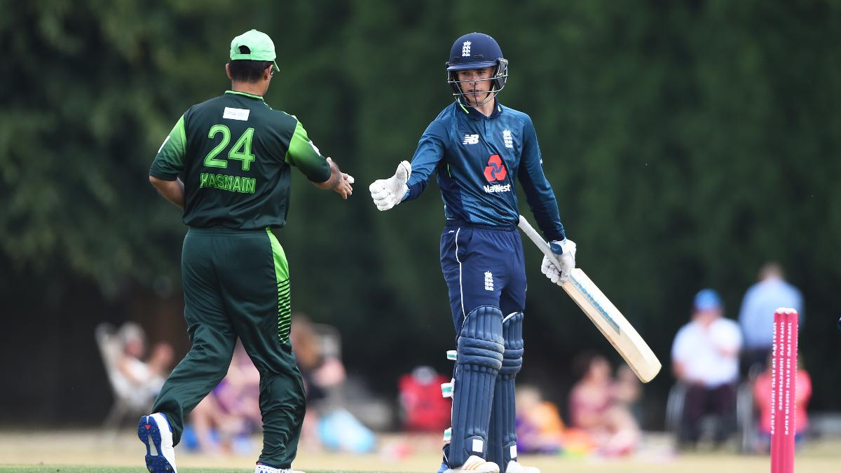 O'Brien is congratulated after reaching 50