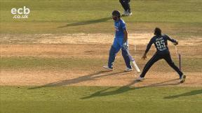 Adil Rashid gets Virat Kohli out stumped