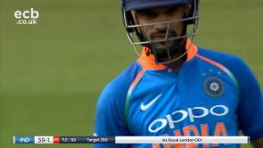 Dhawan out caught Rashid bowled Ali
