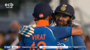 Rohit six brings up his century