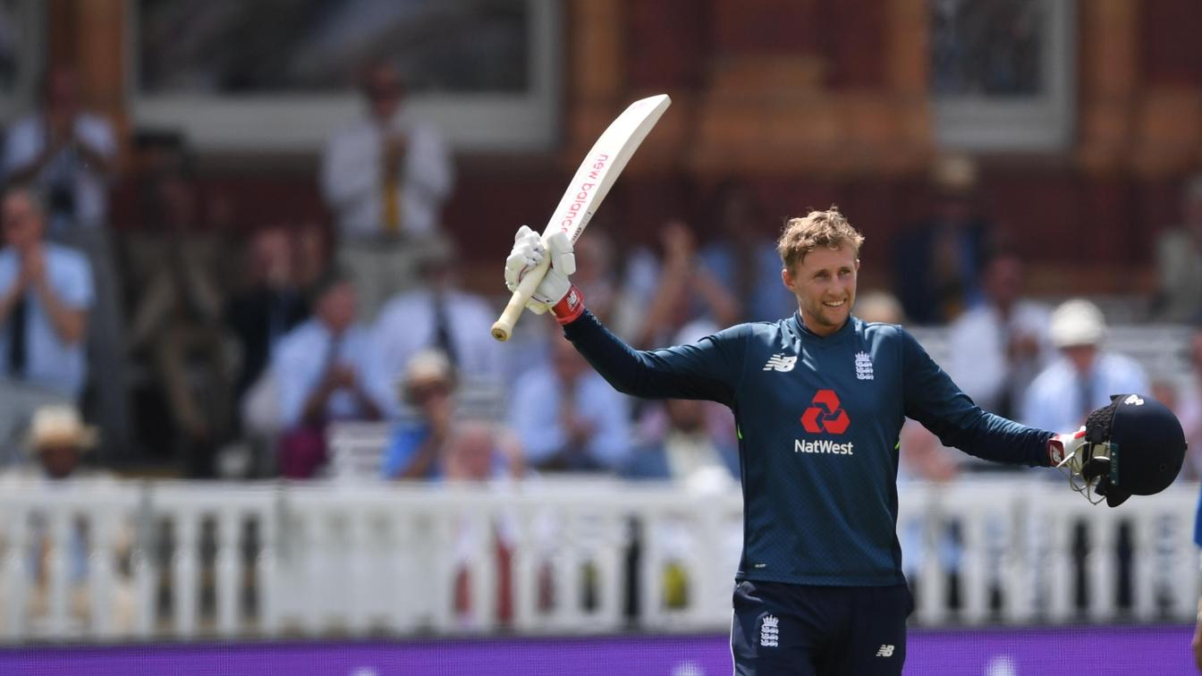 Joe Root scored 113 for England against India at Lord's