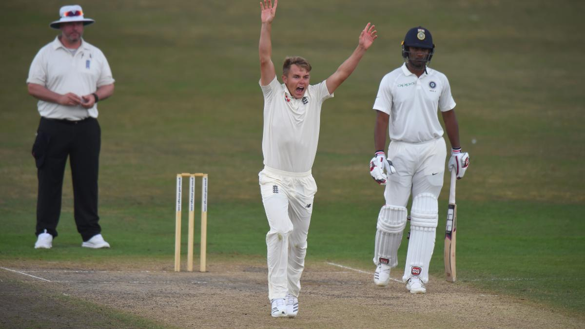 Sam Curran shines with the ball becoming the youngest player to take a five-for for England Lions