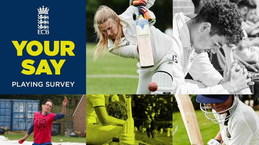 Take part in the 2018 Cricket Playing Survey