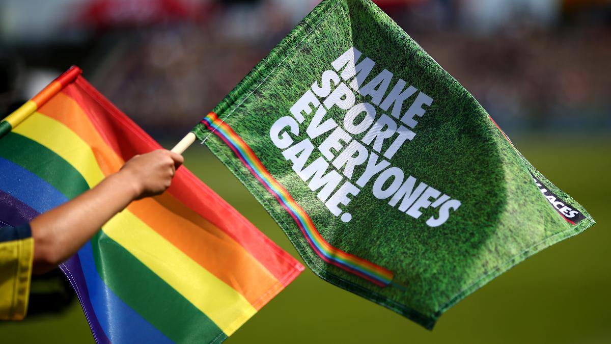 Match stumps, flags and big screens will feature the rainbow in support of the campaign
