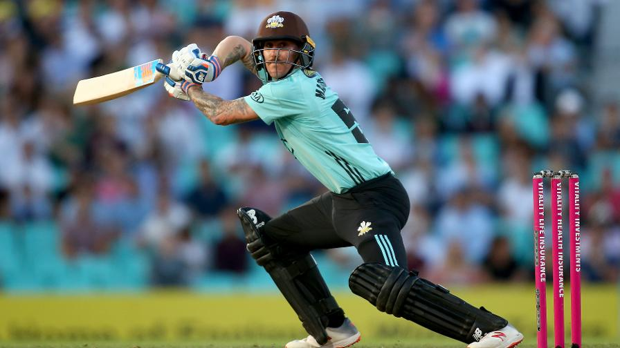Despite their loss,  Nic Maddinson was in red hot form for Surrey
