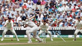 Watch Sam Curran's three-wicket spell