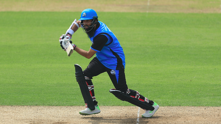 Moeen Ali starred with bat and ball for Worcestershire