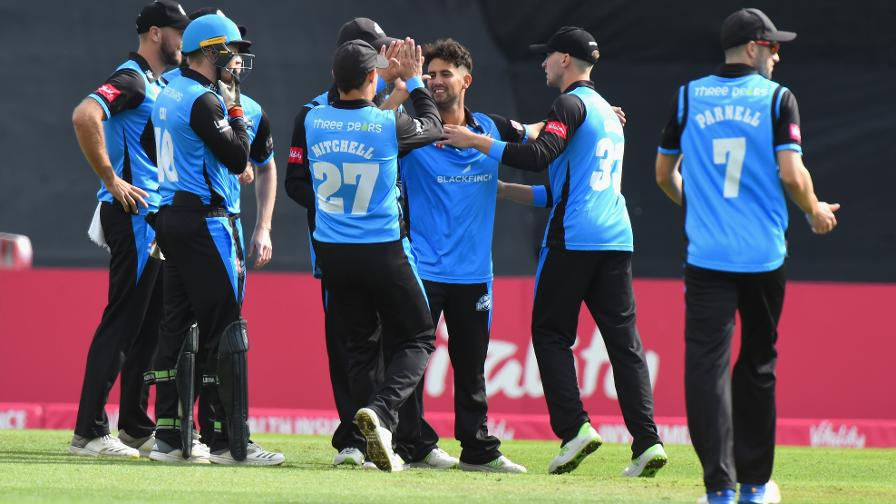 Vitality Blast: Worcestershire seal first Finals Day appearance