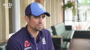 Alastair Cook says goodbye to England