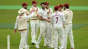 Vasconcelos' tops scores with 62 as Northants shade Day 3