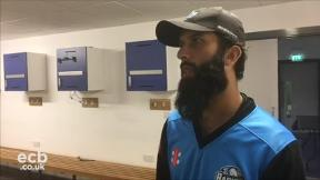 Bat chat with Moeen Ali