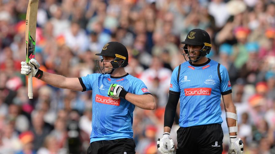 Luke Wright hits 92 runs, a new Finals Day record