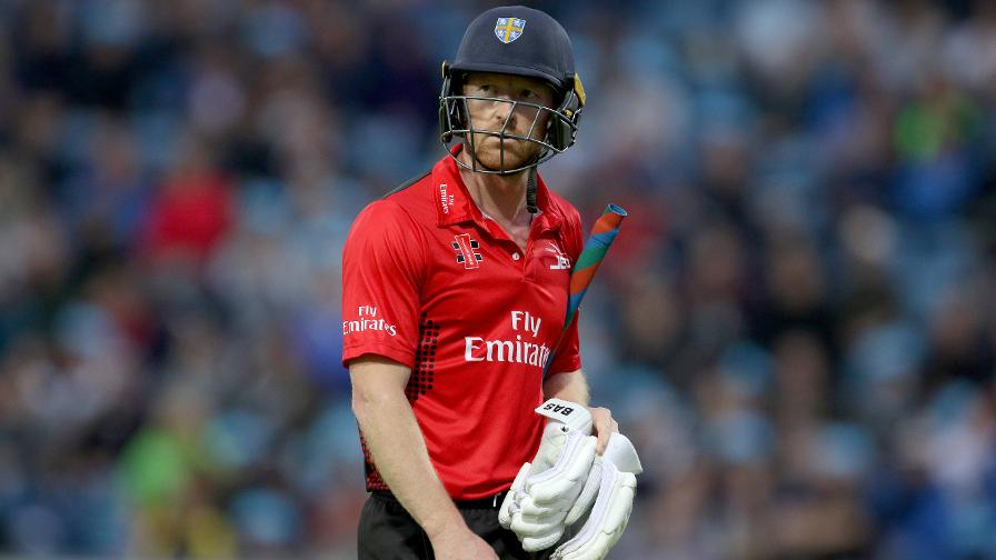 In 2017 Collingwood became the oldest player to score a T20 ton, hitting 108 not out against Worcestershire