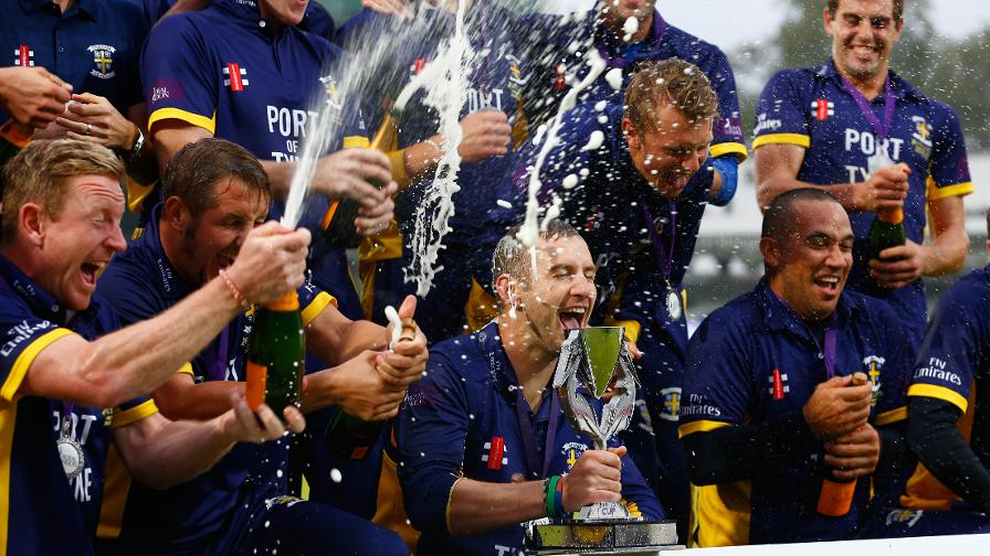 Collingwood then helped Durham win the Royal London One-Day Cup the next season